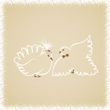 Wedding doves2 Stock Image