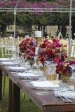 Wedding draußen Stockfotos