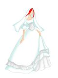 Wedding dress 1 Royalty Free Stock Photos