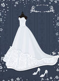 Wedding dress Stock Image