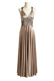 Wedding dress. Evening dress with clippig path Stock Photography