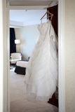 Wedding dress Royalty Free Stock Images