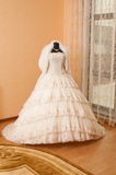 Wedding dress. Stock Photo