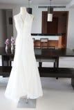Wedding dress. Royalty Free Stock Images