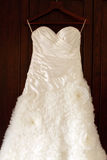 Wedding dress. Royalty Free Stock Image