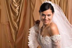 Wedding dress Stock Image