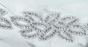 Wedding dress belt Stock Image