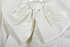 Wedding Dress Bow Stock Image