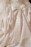 Wedding dress of the bride. Royalty Free Stock Photography