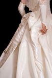 Wedding dress of the bride. Royalty Free Stock Image