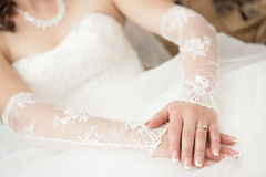 Wedding dress Stock Photography