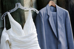Wedding Dress & Ceremonial Clothing Royalty Free Stock Images