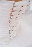 Wedding dress corset Royalty Free Stock Photo
