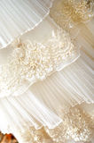 Wedding dress detail Royalty Free Stock Image