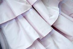 Wedding dress detail. Beautiful  wedding pink dress detail Royalty Free Stock Images
