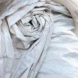 Wedding dress detail. A detail of a wedding dress Royalty Free Stock Image