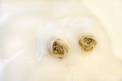 detail wedding dress Stock Photos