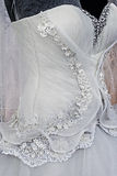 Wedding dress. Detail-44 Royalty Free Stock Photo