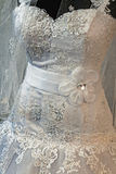 Wedding dress. Detail-40 Royalty Free Stock Images
