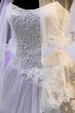 Wedding dress. Detail-80 Royalty Free Stock Image