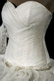Wedding dress. Detail-52 Royalty Free Stock Images