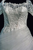 Wedding dress. Detail-57 Royalty Free Stock Image