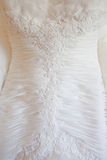 Wedding Dress Details Royalty Free Stock Images