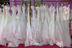 The wedding dress Royalty Free Stock Images