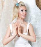 Wedding dress dreams of wedding Royalty Free Stock Photo
