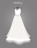 Wedding dress. Stock Image