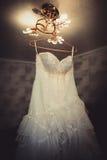 Wedding dress Royalty Free Stock Image