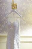 Wedding dress Stock Images
