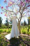 Wedding dress Royalty Free Stock Photography