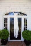 Wedding Dress Hanging Up Royalty Free Stock Image
