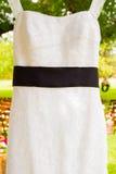 Wedding Dress Hanging Up Stock Photos