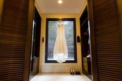 Wedding dress Royalty Free Stock Images