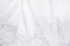 Wedding Dress Lace Stock Image