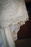 Wedding Dress Lace Stock Images