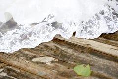 Wedding dress lace Royalty Free Stock Image