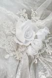 Wedding dress ornament. Stock Image