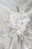 Wedding dress ornament. stock image