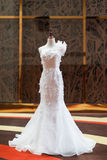 Wedding dress royalty free stock photo