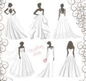 Wedding dress set Stock Photos