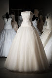 Wedding dress shop Stock Images