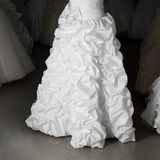 Wedding dress shop Royalty Free Stock Image