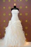 Wedding dress studio. Wedding bride dress studio stock image