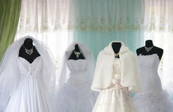 Wedding dresses Royalty Free Stock Photo