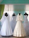Wedding dresses Stock Photos