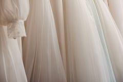 Wedding dresses royalty free stock image