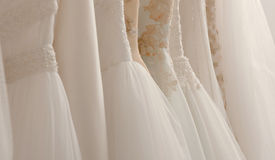 Wedding dresses Stock Image